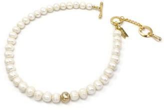 Biko Paloma Pearl Collar Gold