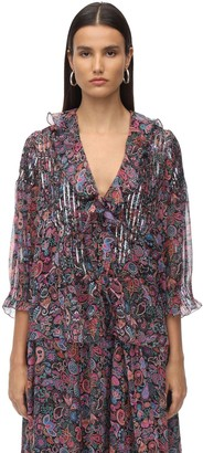Zadig & Voltaire Zadig&Voltaire Printed Georgette Shirt