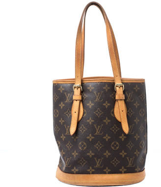 Louis Vuitton Monogram Canvas Petit Bucket Bag