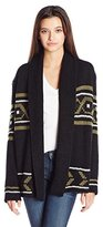Element Juniors Broome Jacquard Cardigan Sweater
