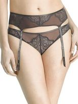 Natori Foundations Whisper Laced Garter Belt