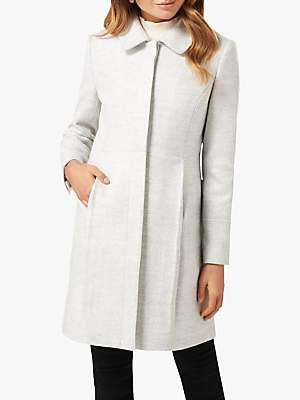 Forever New Emmy Dolly Coat, Grey Marl