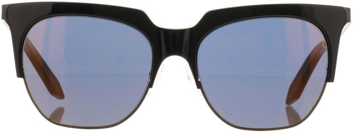 Victoria Beckham Layered Combination Square Sunglasses