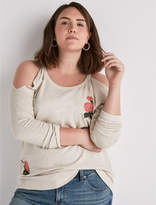 Lucky Brand Rose Sweatshirt