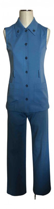 Prada Turquoise Polyester Dresses