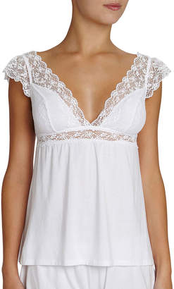 Eberjey Kiss the Bride Cap-Sleeve Camisole