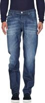 Care Label Denim pants - Item 42611697