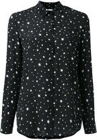 Zoe Karssen stars print shirt - women - Silk - XS