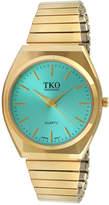 JCPenney TKO ORLOGI Womens Light Blue Dial EZ Flex Expansion Bracelet Watch
