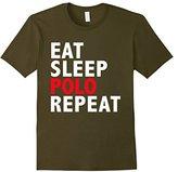 Eat Sleep Polo Repeat Funny T-shirt Polo Player Gift