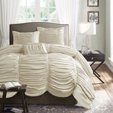 JCPenney Madison Park Newport 4-pc. Ruched Duvet Cover Set