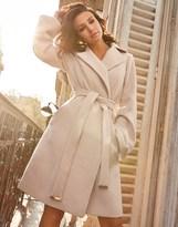 Lipsy Love Michelle Keegan Bell Sleeve Wrap Coat