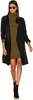 Velvet by Graham & Spencer Aubrey Suede Wrap Jacket