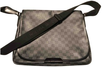 Louis Vuitton Daniel MM Satchel Anthracite Cloth Bags