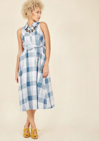 ModCloth Rustic Redux Midi Dress in M