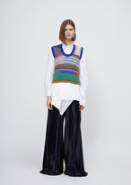 Marni multicolor sleeveless crew neck sweater