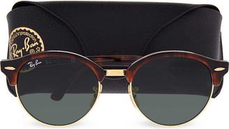 Ray-Ban RB4246 Havana Clubround sunglasses