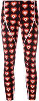 Fendi Heart-print capri leggings