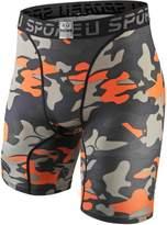 EU Men's Compression Shorts Running Tights Base Layer X-Small