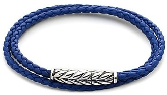 David Yurman Triple-Wrap Ojime Chevron Bracelet