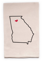 "ellembee Home ""Georgia State"" Tea Towel"