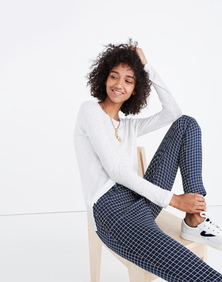 Madewell Whisper Cotton Crewneck Long-Sleeve Tee