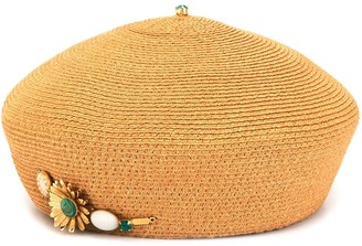Celine Robert Myne woven hat