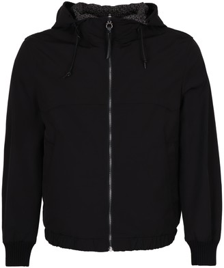 Salvatore Ferragamo Hooded Reversible Nylon Jacket