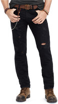 Denim & Supply Ralph Lauren Men's Slim-Fit Destructed Jeans