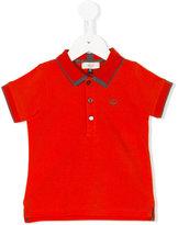 Armani Junior contrast trim polo shirt