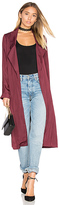 Lovers + Friends x REVOLVE Jackson Duster in Wine. - size S (also in )