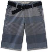 Calvin Klein Ether Stripe Shorts, Big Boys (8-20)