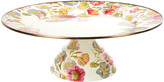 Mackenzie Childs MacKenzie-Childs - Morning Glory Pedestal Platter - Large