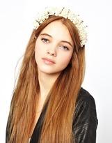 Rock 'N' Rose Rock 'N Rose Lilibeth Crown Headband - White