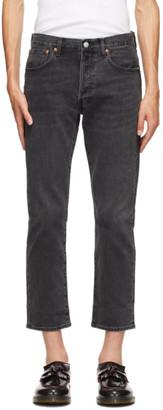 Levi's Levis Black 501 93 Straight Jeans