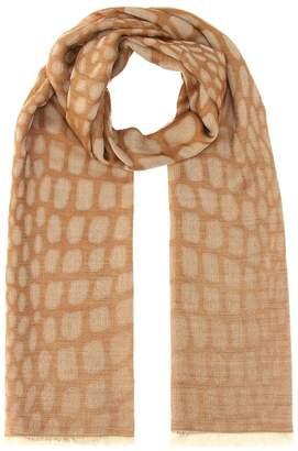 Max Mara Potus wool-blend scarf