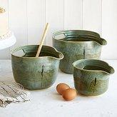 Nesting Stoneware Mixing Bowl Sets