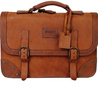 The Dust Company Mod 101 Briefcase in Cuoio Heritage Brown