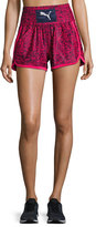 Puma Culture Surf Boxing Athletic Shorts, Blue/Pink