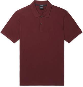 HUGO BOSS Pallas Cotton-Pique Polo Shirt