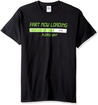 T Line T-Line Men's Funny Shirt Fart Now Loading Graphic T-Shirt