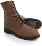 """Justin Boots Rusty Mountain Work Boots - Steel Safety Toe, Leather, 8"""" (For Men)"""