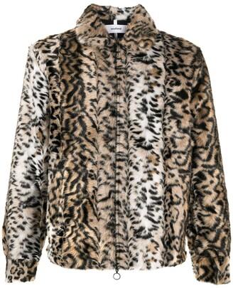Soulland Mapp faux fur jacket