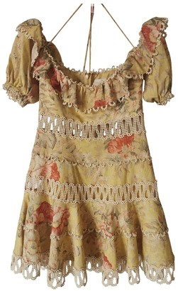 Zimmermann Yellow Linen Dresses