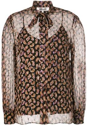 Diane von Furstenberg Lanie paisley print blouse