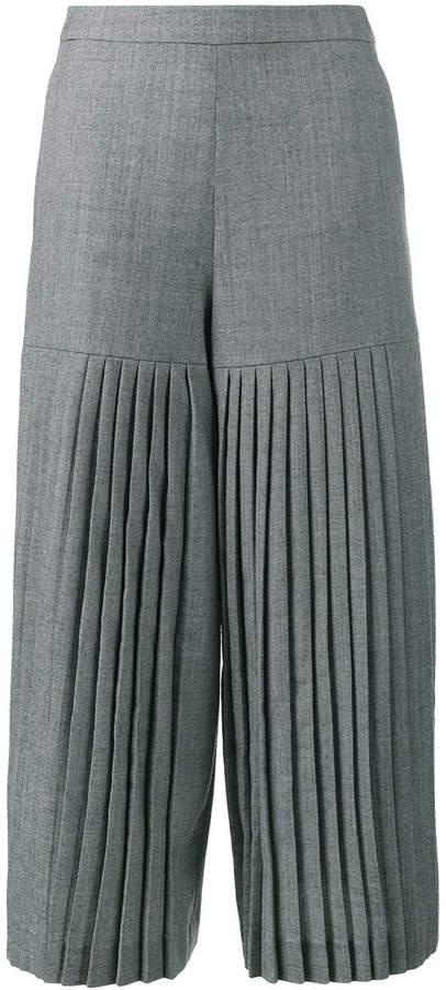 Osman madie pleated culottes