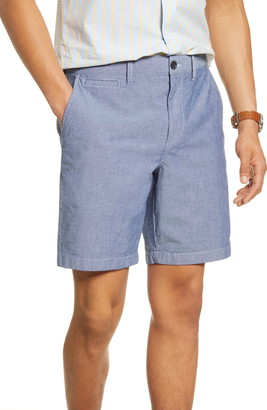 1901 Ballard Slim Fit Stretch Chambray Shorts