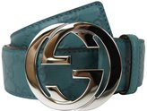 Gucci Men's Interlocking G Buckle Belt 114984