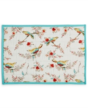 "Lenox Chirp Quilted 13"" x 19"" Placemat"