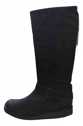 Jonak Black Leather Boots